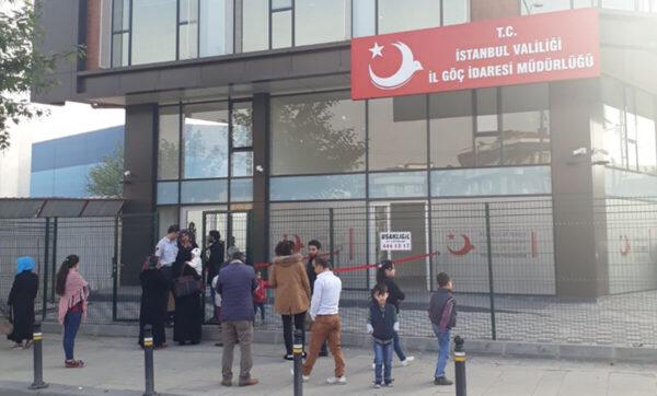 مديرية الهجرة في إسطنبول - وكالات