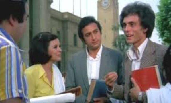 نور الشريف في فيلم الكرنك - مواقع التواصل