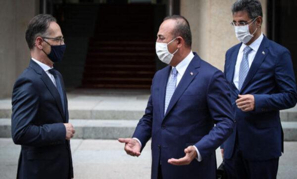 وزير الخارجية التركي ونظيره الألماني - مدى بوست