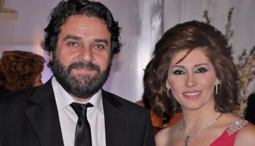 يارا صبري وزوجها ماهر صليبي -