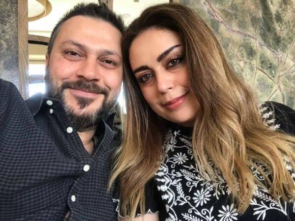 وائل شرف وزوجته