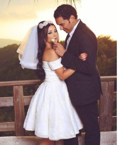 جيهان عبد العظيم وزوجها