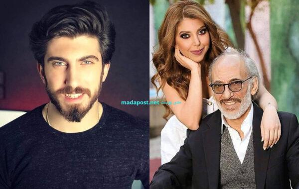 غسان مسعود وأبنائه