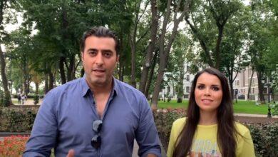 Photo of سخرية متبادلة ما بين الفنان باسم ياخور وزوجته رنا الحريري (فيديو)