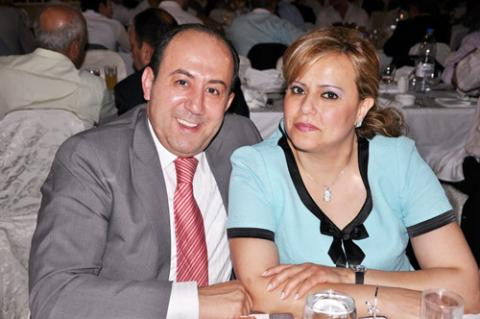 محمد خير وزوجته