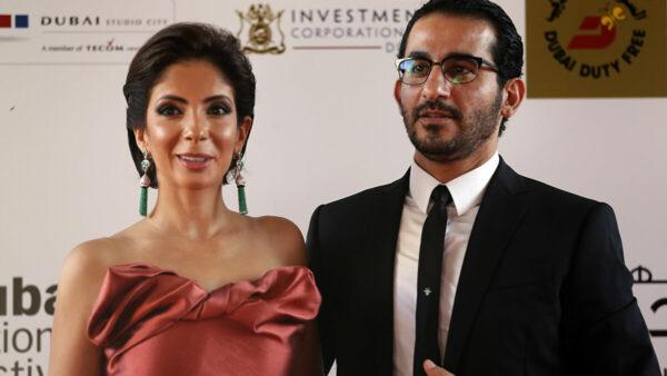 أحمد حلمي مع منى زكي