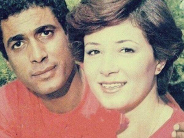 أحمد زكي مع هالة فؤاد