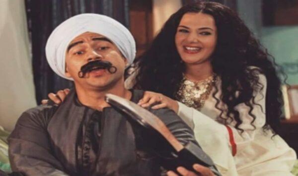 أحمد مكي مع دنيا سمير غانم