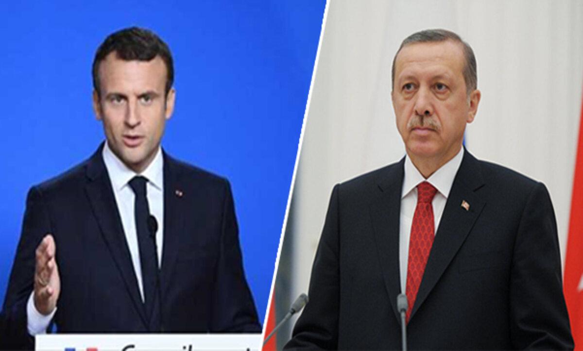 أردوغان وماكرون - مواقع التواصل