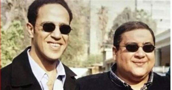 أشرف عبد الباقي مع علاء ولي الدين