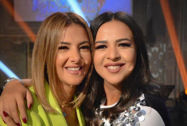 إيمي سمير غانم مع دنيا سمير غانم