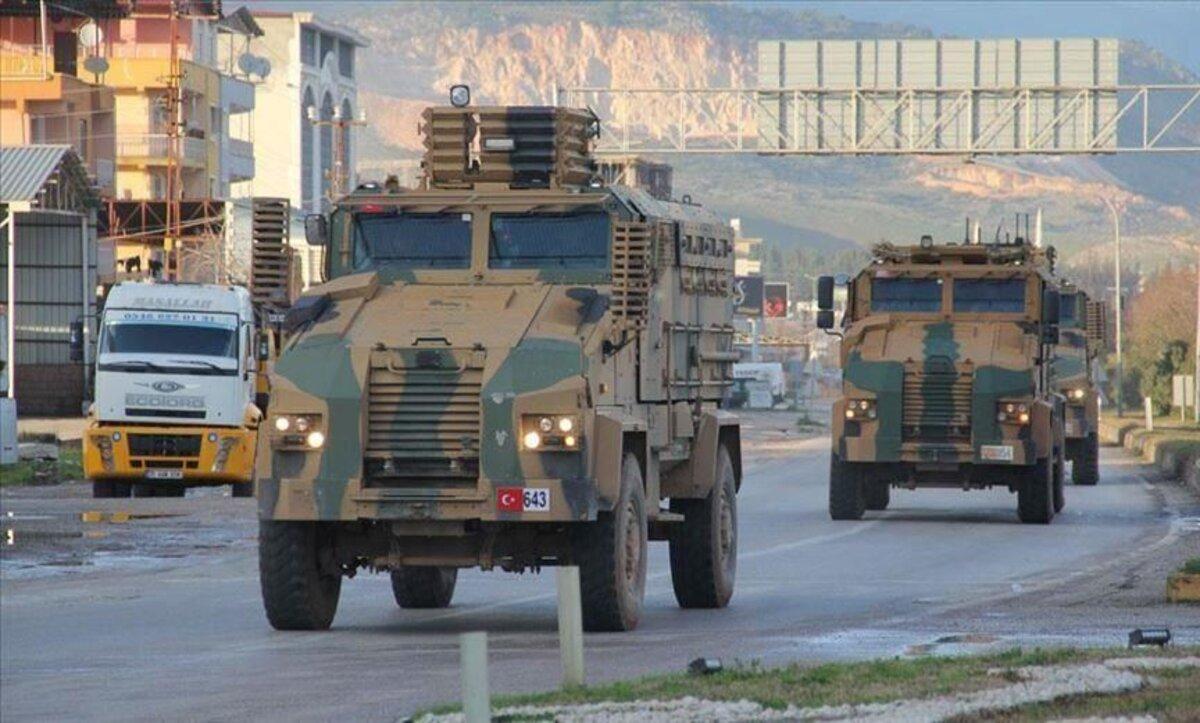 الجيش التركي - الحدود السورية التركية