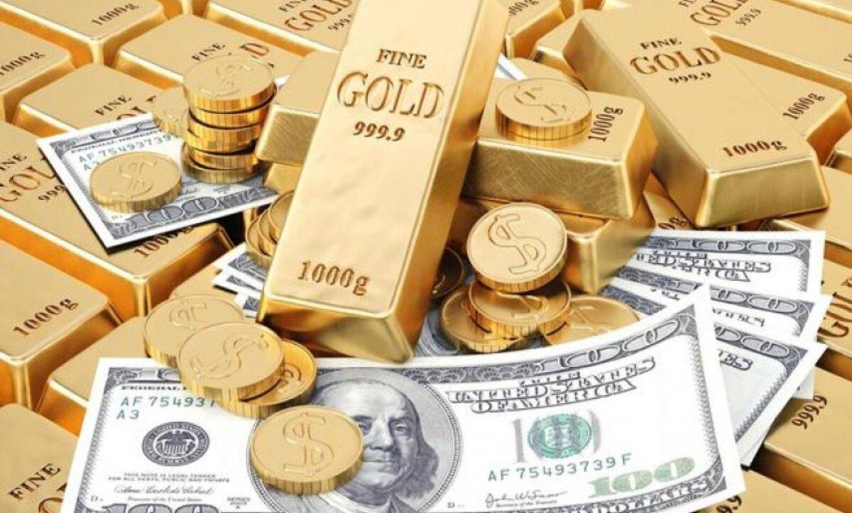 الدولار والذهب - تعبيري