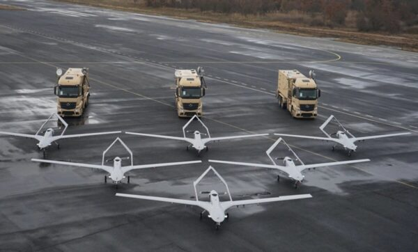 الطائرات المسيرة بيرقدار - مواقع التواصل