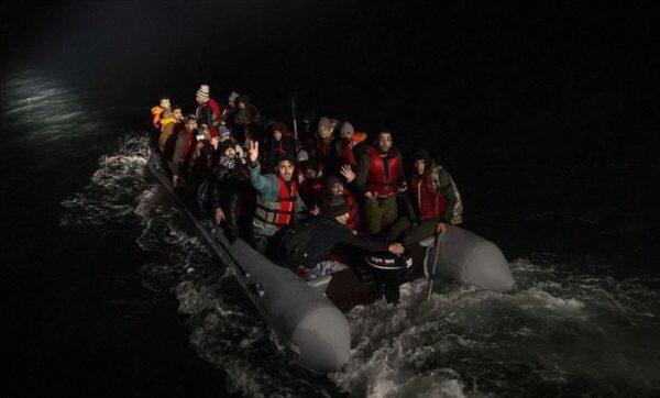 اللاجئين السوريين على الحدود اليونانية - الأناضول