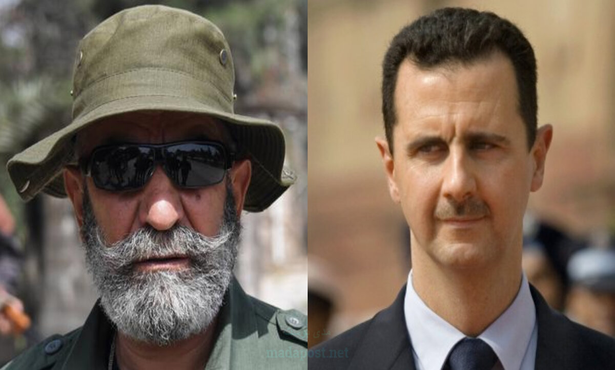 بشار الأسد وعصام زهر الدين - مدى بوست