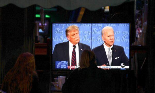 ترامب وبايدن في أول مناظرة رئاسية متلفزة - وكالات