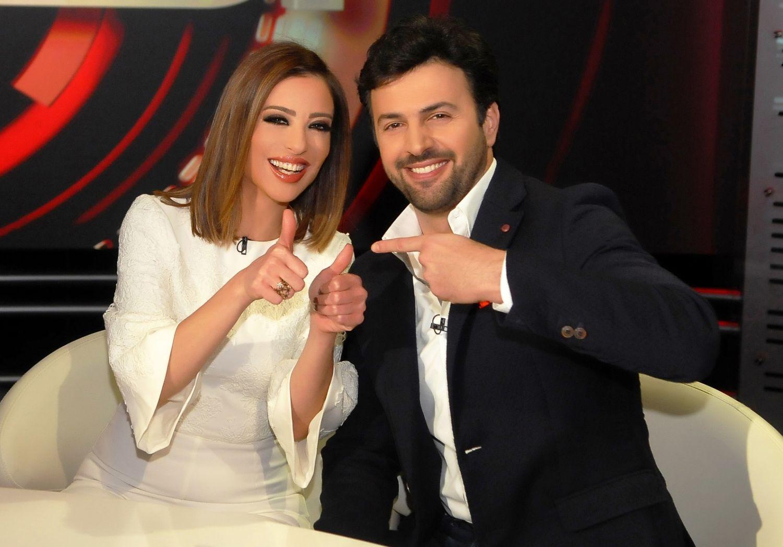 تيم حسن مع وفاء الكيلاني