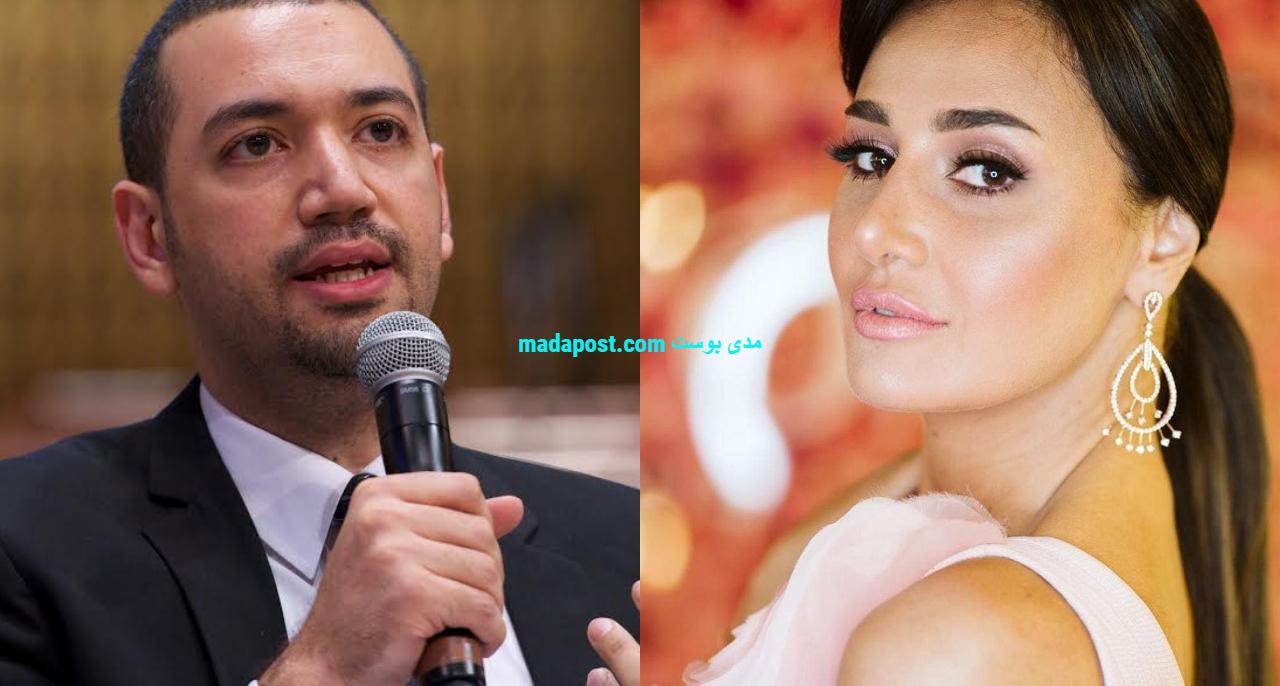 حلا شيحة مع معز مسعود
