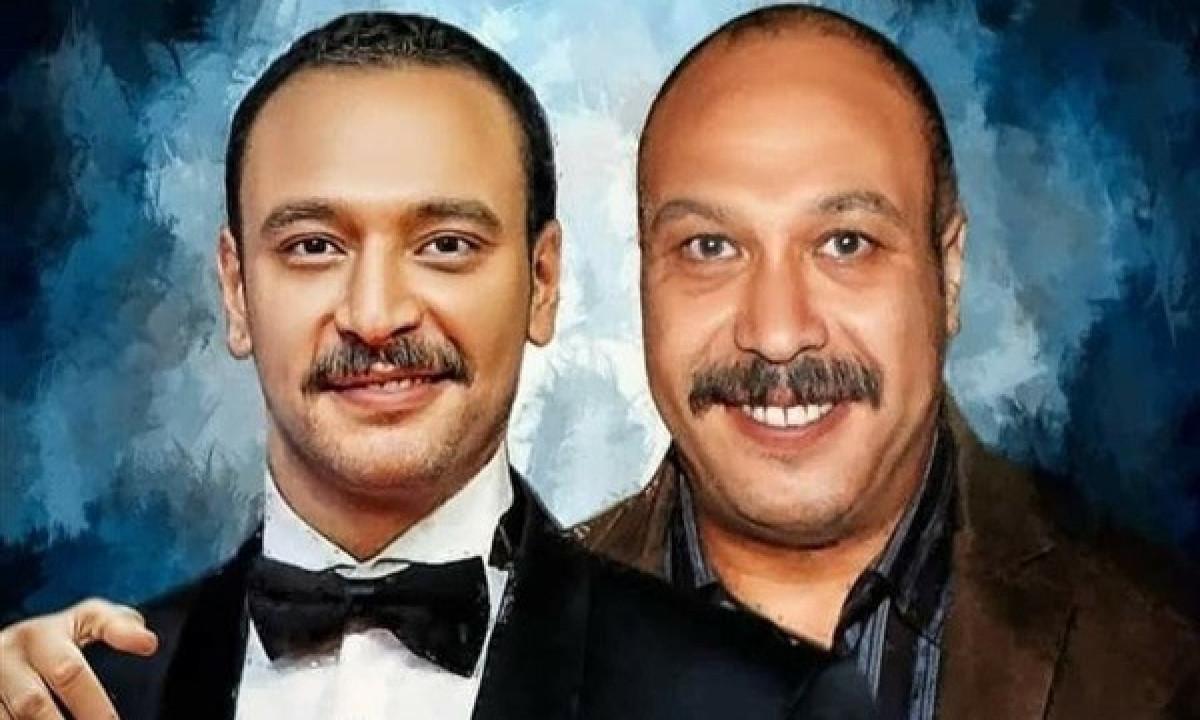 خالد صالح وابنه أحمد