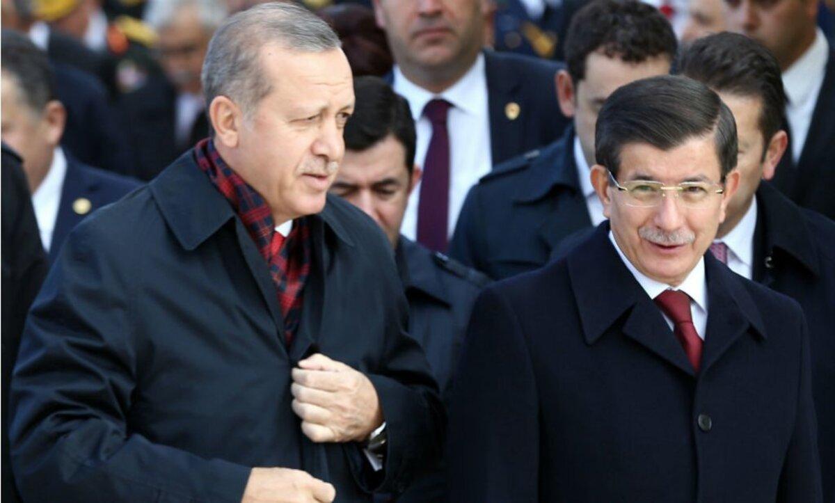 داوود أوغلو الرئيس أردوغان - وكالات