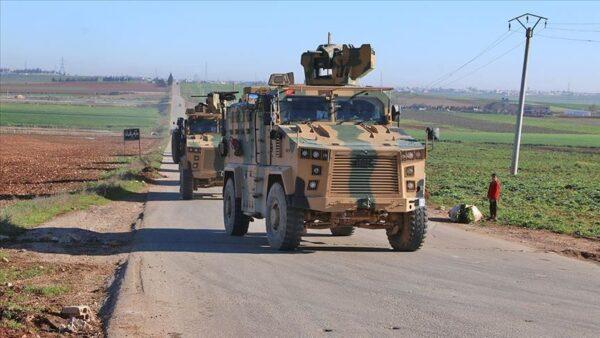 دوريات روسية تركية في إدلب - وكالات