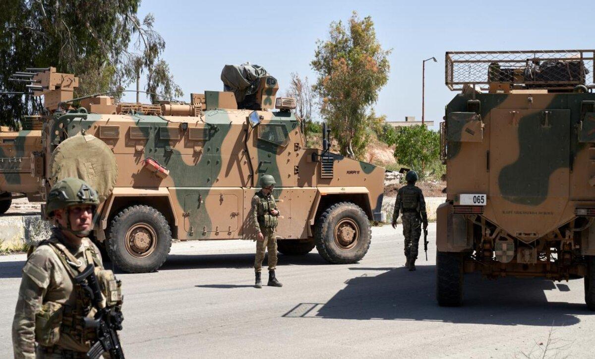 دوريات روسية تركية في الشمال السوري - مواقع التواصل