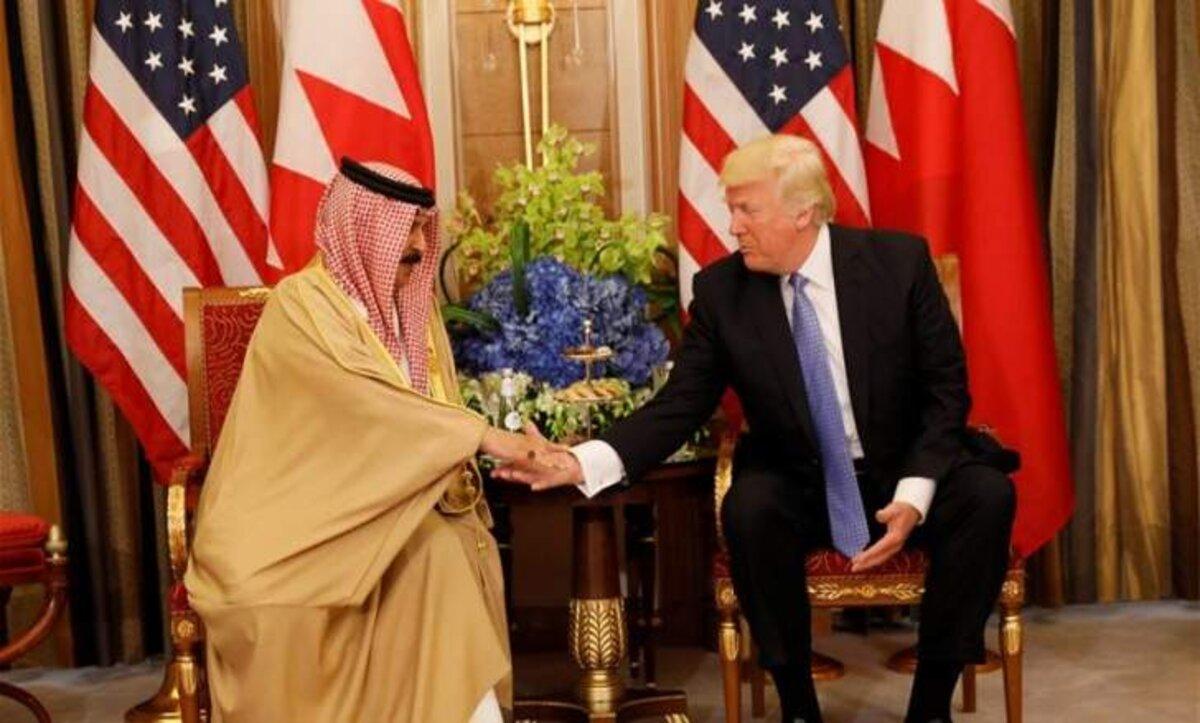 دونالد ترامب في البحرين - أرشيف وكالات
