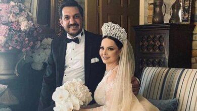 Photo of اللقطات الأولى من حفل زفاف الأردنية ديانا كرزون (صور/ فيديو)