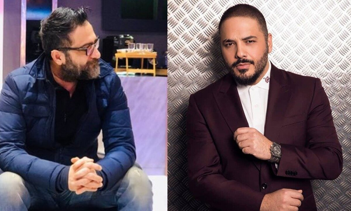 رامي عياش وناصر فقيه - مواقع تواصل