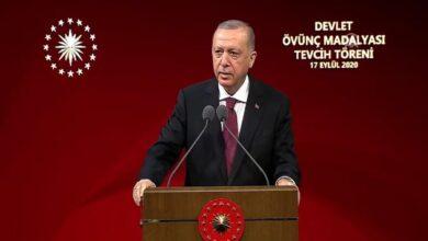 Photo of أردوغان: نواصل مسيرة التنمية في تركيا وإن انتهت أمريكا وأوروبا ديمقراطياً واقتصادياً