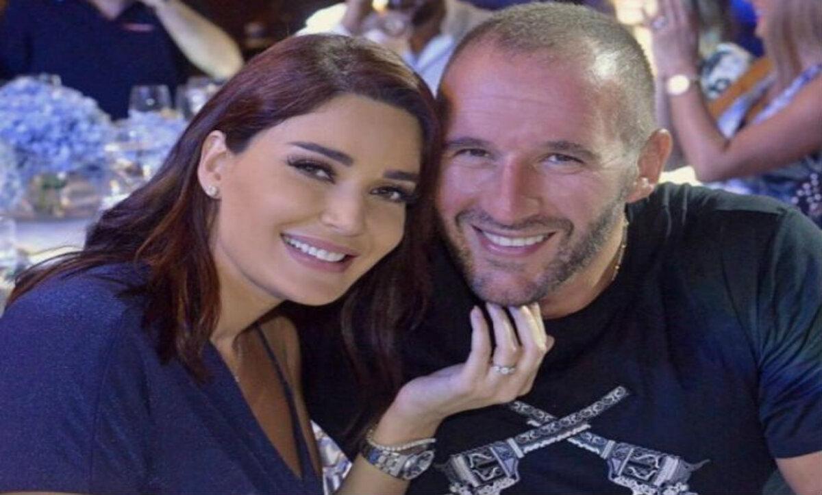 سيرين عبد النور وزوجها - مواقع التواصل