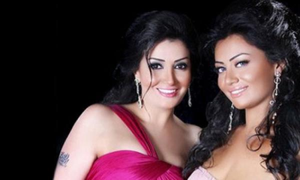غادة مع ابنتها روتانا