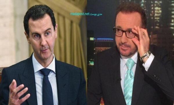 فيصل-قاسم-بشار-الأسد-مدى بوست