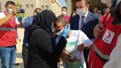 Photo of لحظة لقاء سيدة سورية بابنها من ذوي الاحتِياجات الخاصة في سوريا (فيديو)