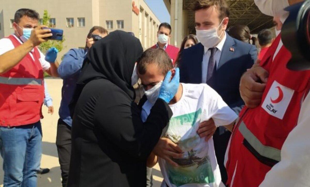 لقاء أم سورية بابنها بعد أشهر من فقدانه