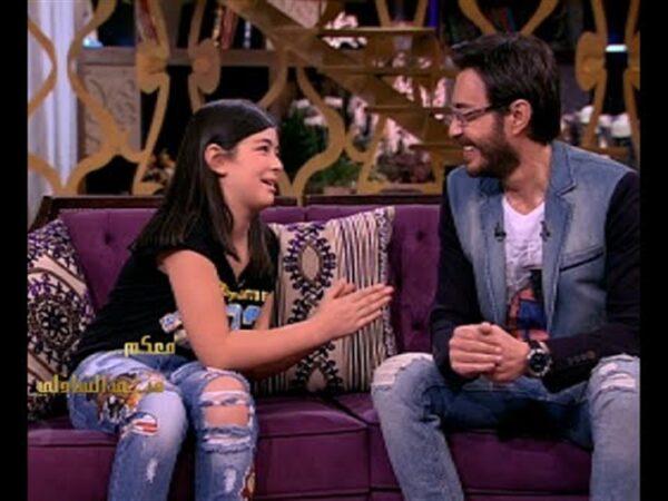 ليلى مع أحمد زاهر منذ خمس سنوات