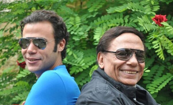 محمد إمام مع عادل إمام