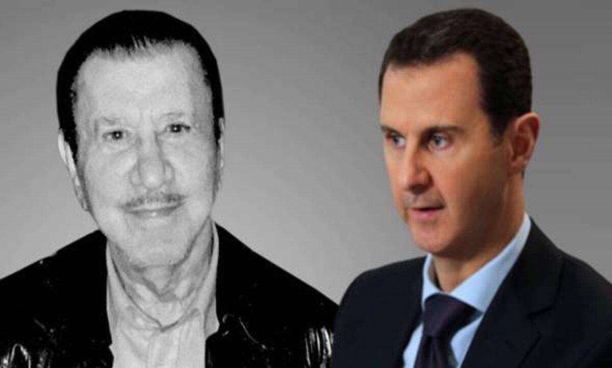 محمد مخلوف وبشار الأسد - مواقع التواصل