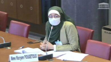 Photo of توقف اجتماع برلماني في فرنسا رفضاً لمشاركة محجبة (فيديو)