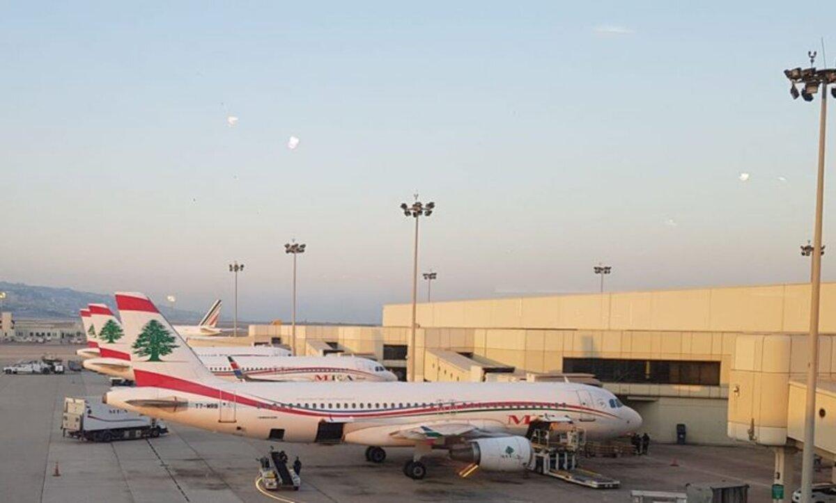 مطار بيروت - وكالات