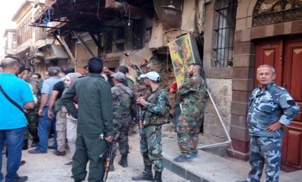 مناطق سيطرة نظام الأسد - مواقع التواصل