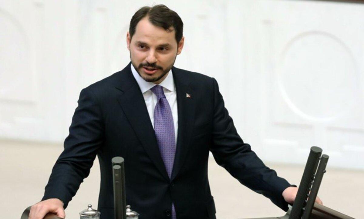 وزير المالية التركي - براءت ألبيرق