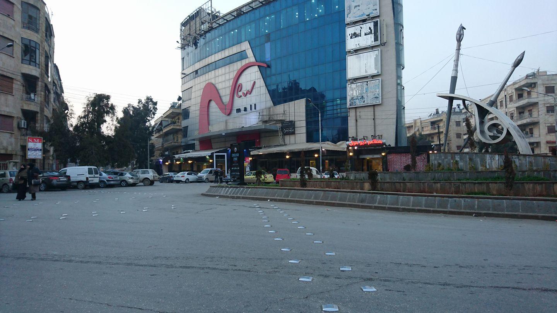 حي الموكامبو وسط مدينة حلب