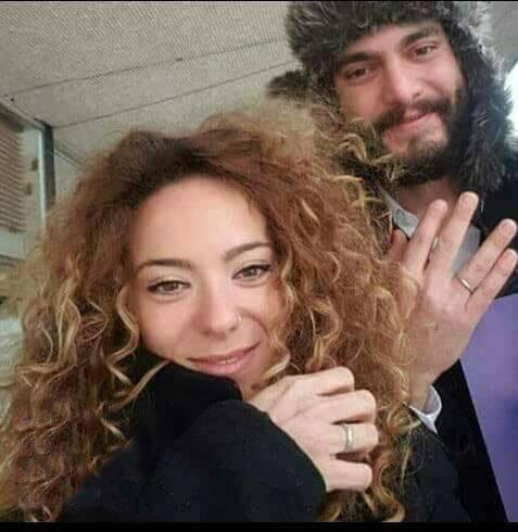 سامر إسماعيل وزوجته