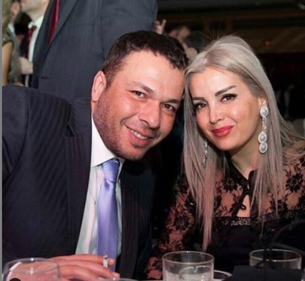 سعد مينه وزوجته