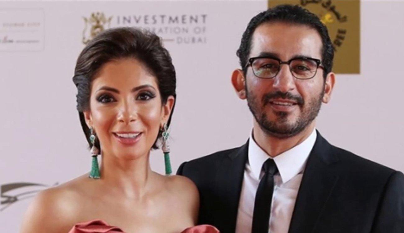 منى زكي مع أحمد حلمي