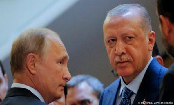 أردوغان وبوتين - رويترز