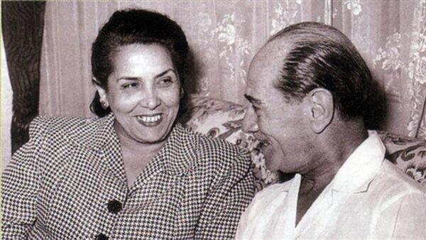 استيفان روستي مع زوجته