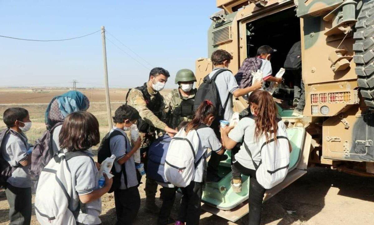 الجيش التركي - نبع السلام